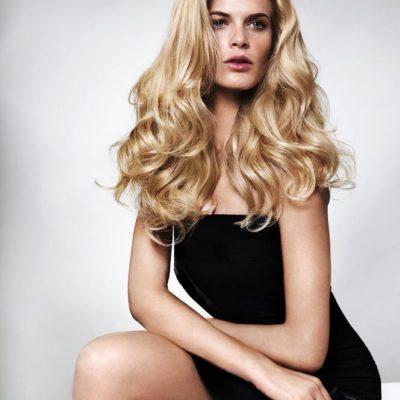 Trendshooting Blonde Locken by Tobias - Gesundes Haar durch System Professional Pflegesysteme