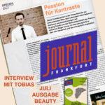 Passion für Kontraste - Interview im Journal Frankfurt