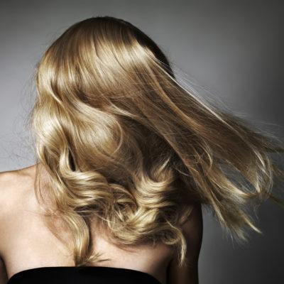 Blonde Haare Trend backside