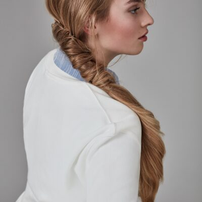 EIMI Style Book Shooting - long blonde pigtail